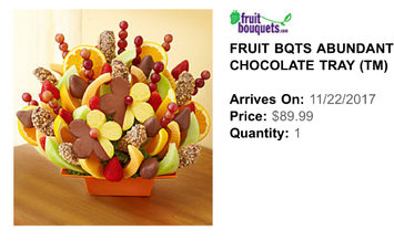 Photo of Fruit Bouquets.com uploaded by Michelle R.