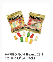 HARIBO Gold Bears Gummi Candy uploaded by Nila H.