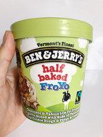 Ben & Jerry's® Half Baked Frozen Yogurt uploaded by Liana L.