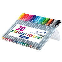 Staedtler Triplus Fineliner Pens, Assorted, Set of 20 uploaded by Maansi Gupta💗 F.