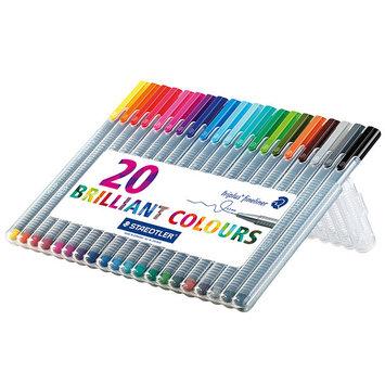 Photo of Staedtler Triplus Fineliner Pens, Assorted, Set of 20 uploaded by Maansi Gupta💗 F.