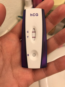 Photo uploaded to First Signal One-Step Pregnancy Test by Andreli A.