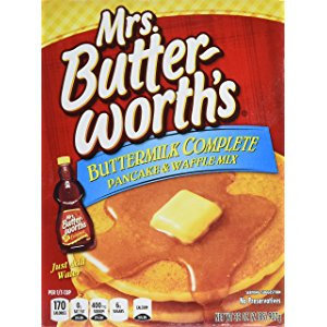 Photo of Mrs. Butterworth's Buttermilk Complete Pancake & Waffle Mix uploaded by Nani L.