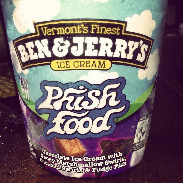 Ben & Jerry's Phish Food Ice Cream uploaded by Courtney B.