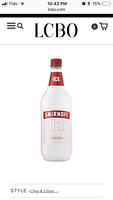 Smirnoff Triple Distilled Vodka uploaded by Jessie K.