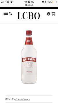 Photo of Smirnoff Triple Distilled Vodka uploaded by Jessie K.