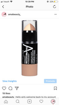 Photo of Maybelline Facestudio® Master Contour V-Shape Duo Stick uploaded by Amal M.