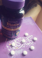Natrol Biotin 10,000mcg Tablets - 100 CT uploaded by Hagar H.