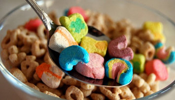 Lucky Charms Cereal uploaded by Megan L.