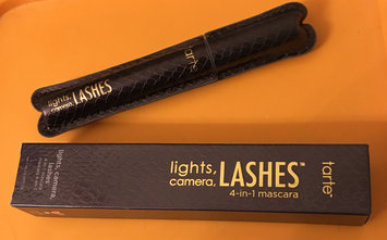Photo of tarte™ lights, camera, lashes™ 4-in-1 mascara uploaded by Brittany U.