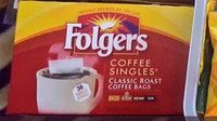 Folgers Classic Roast Coffee Singles uploaded by Cassandra R.