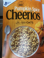 Cheerios Pumpkin Spice Cereal uploaded by Veronica S.