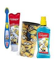 Colgate Kids Minions Bello Anticavity Fluoride Mouthwash, Bubble Fruit, 16.9 fl oz uploaded by roselle m.