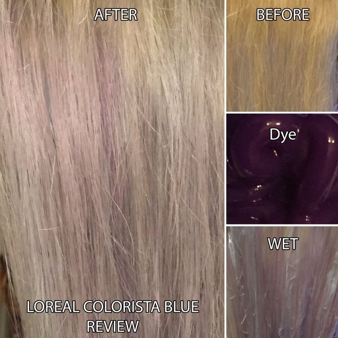 L'Oréal Paris Colorista Semi-Permanent Hair Color for Light Blonde or Bleached Hair uploaded by Lady M.