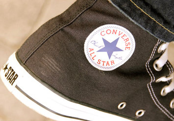 Photo of Converse Chuck Taylor All Star High uploaded by Vicki F.