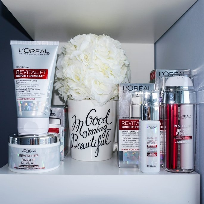 L'Oréal Paris Revitalift Bright Reveal Brightening Dual Overnight Moisturizer uploaded by Shazia A.