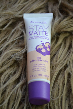 Photo of Rimmel Stay Matte Liquid Mousse Foundation uploaded by rebecca r.