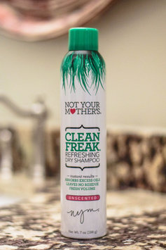 Not Your Mother's Clean Freak Unscented Dry Shampoo uploaded by Katie M.