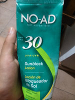 NO-AD Sunscreen Lotion, Travel Size, SPF 30, 3 fl oz uploaded by Alexandra D.