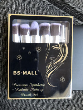 Photo of BS-MALL(TM) Premium Synthetic Kabuki Makeup Brush Set Cosmetics Foundation Blending Blush Eyeliner Face Powder Brush Makeup Brush Kit uploaded by Christen T.