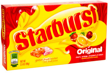 Photo of Starburst Original Fruit Chews uploaded by Maansi Gupta💗 F.