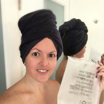 Photo of AQUIS Lisse Luxe Hair Towel uploaded by Perfashionista T.