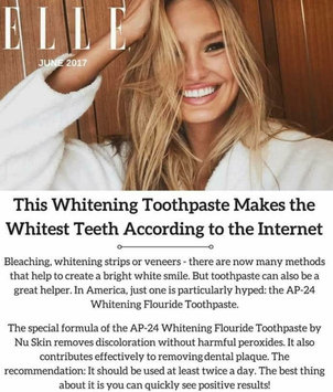 Photo uploaded to AP-24 Whitening Fluoride Toothpaste by Alicia G.