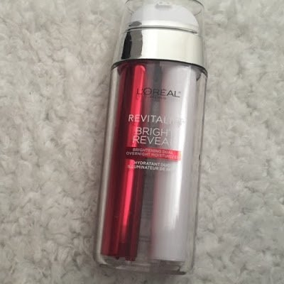 L'Oréal Paris Revitalift Bright Reveal Brightening Dual Overnight Moisturizer uploaded by Eda M.