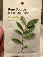 Missha Pure Source Cell Sheet Mask (Green Tea) 1pc(21g) uploaded by Danniel R.