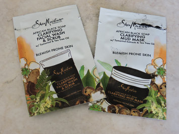 SheaMoisture African Black Soap Problem Skin Facial Wash & Scrub uploaded by Mariana P.