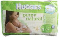 Huggies Pure & Natural Diapers, Size N, Super Mega 60 ea uploaded by Tarrah D.