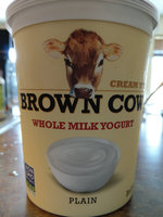Brown Cow Plain Cream Top Yogurt uploaded by Antoinette J.