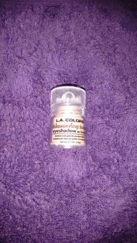 L.A. Colors Shimmering Loose Eye Shadow 111 Snow White uploaded by Ana Z.