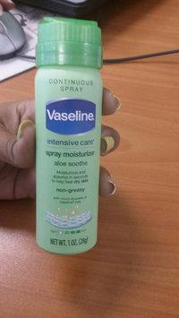 Photo of Vaseline® Intensive Care™ Aloe Soothe Spray Moisturizer uploaded by Oleydis Carolina R.