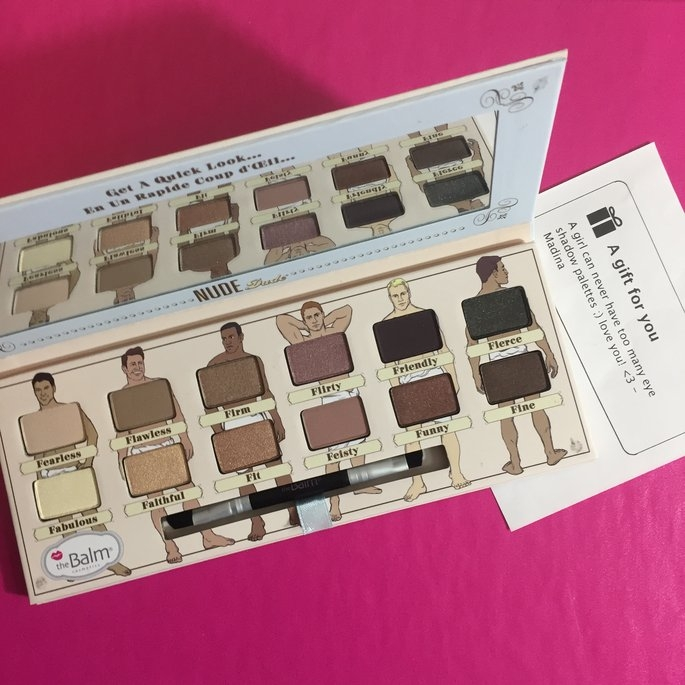 theBalm NUDE 'dude Eyeshadow Palette w/Twinbeauty Brush uploaded by Farina W.