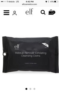 e.l.f. Studio Makeup Remover Cleansing Cloths uploaded by Victoria P.