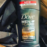 Dove Dove Men+Care Elements Mineral Powder + Sandalwood Antiperspirant Deodorant Stick uploaded by Ashlee B.