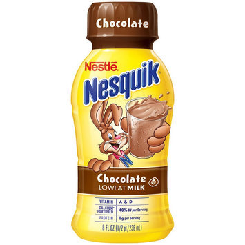 Photo of Nesquik® Chocolate Ready-to-Drink Fat Free Milk uploaded by Hilda L D.
