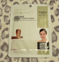 Dermal Korea Collagen Essence Full Face Facial Mask Sheet - Syn-Ake uploaded by Sarah H.