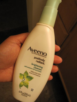 Aveeno Positively Radiant Cleanser uploaded by Shalin T.