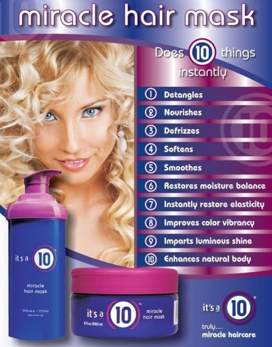 it's a 10 Miracle Hair Mask uploaded by Taylor P.