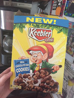 Keebler Chocolate Chip Cookies Cereal uploaded by Faith M.