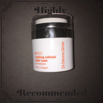 Photo of Dr. Dennis Gross Skincare Clarifying Colloidal Sulfur Mask uploaded by Louise H.