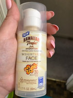 Hawaiian Tropic® Silk Hydration Oil Free SPF 30 Face Sunscreen uploaded by Christain S.
