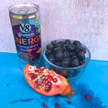 V8 Juice V8 V-Fusion Energy Pomegranate Blueberry Vegetable & Fruit Juice 8 oz, uploaded by Kristina W.