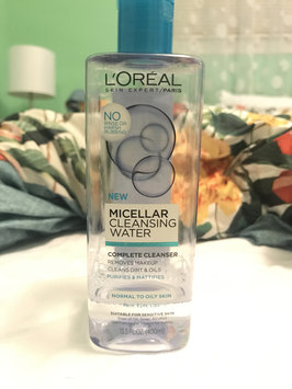 L'Oréal Paris Micellar Cleansing Water for Normal to Oily Skin uploaded by Launa A.