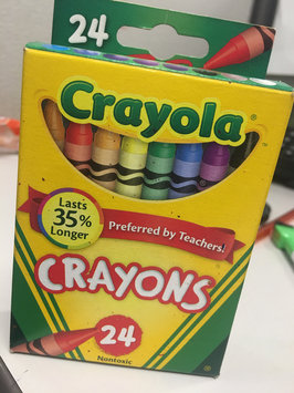 Photo of Crayola 24ct Crayons uploaded by Teona M.
