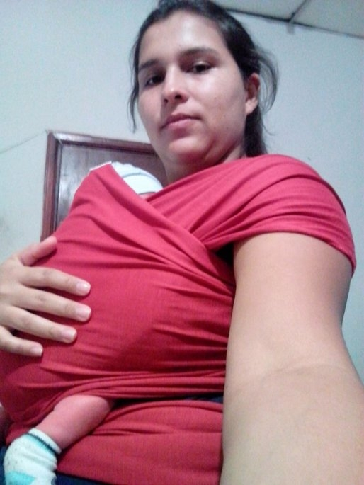 Moby Wrap Organic Baby Carrier uploaded by Ninoska R.
