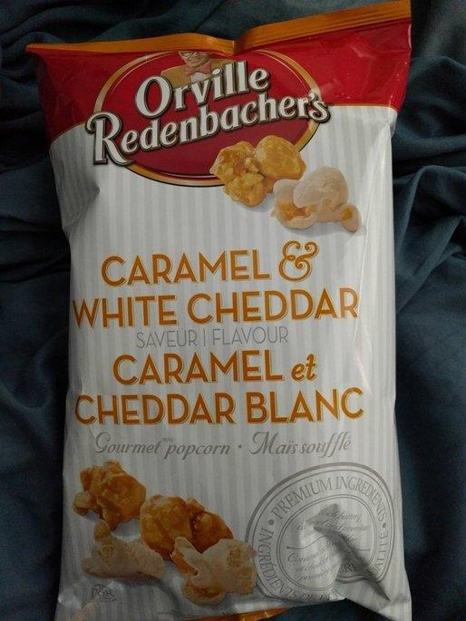 Orville Redenbacher's® Caramel White Cheddar Popcorn uploaded by Caroline S.