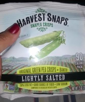 Photo of Harvest Snaps Snapea Crisps Lightly Salted uploaded by Janika A.